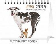 Kalendář 2015 - Psi se jmény psů Praktik - stolní týdenní