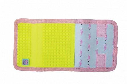 Náhled Pixie Peněženka PXA-10 neon žlutá/plameňák