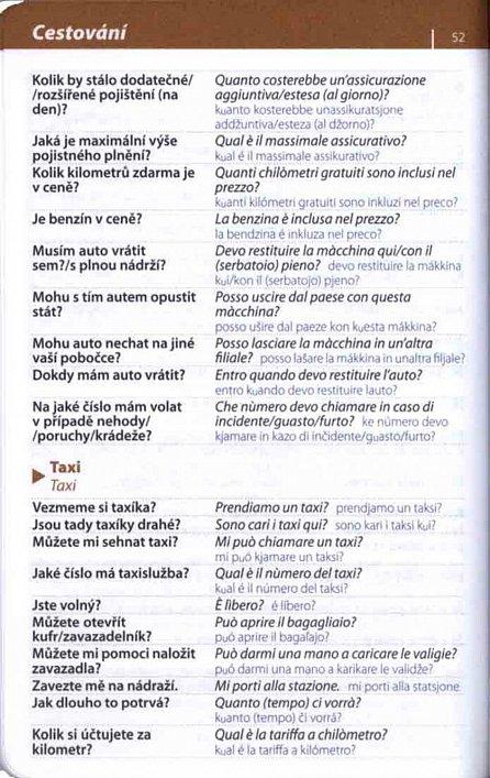 Náhled Italština -  konverzace se slovníkem a gramatikou