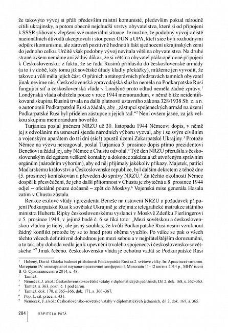 Náhled Podkarpatská Rus v dějinách Československa 1918-1946