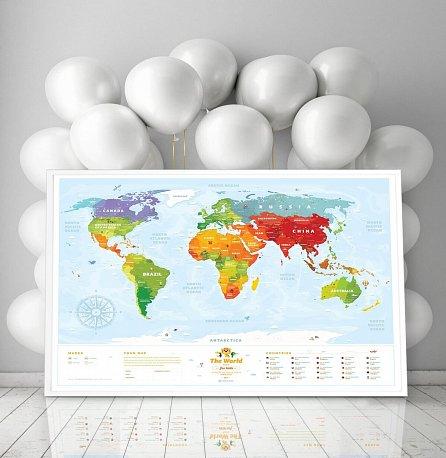 """Náhled Dětská interaktivní mapa """"Travel Map Kids"""""""