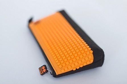 Náhled Pixie Penál PXA-01 černá/neon oranžová
