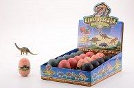 Dinosaurus - 3D Puzzle ve vajíčku 4 druhy