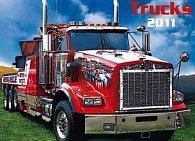 Kalendář 2011 - Trucks (48x33) nástěnný