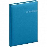 Diář 2016 - Capys - Týdenní A5, světle modrá,  15 x 21 cm