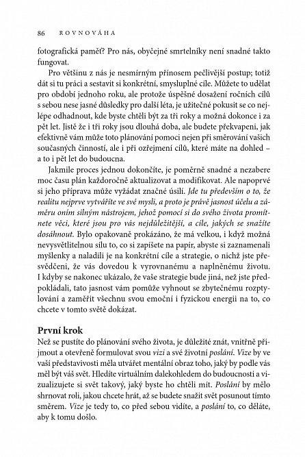 Náhled Rovnováha - Spojení práce a života