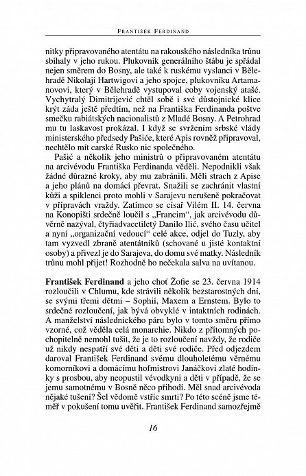 Náhled František Ferdinand