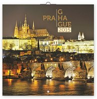 Kalendář 2015 - Praha - nástěnný 8jazyčný (CZ, SK, HU, PL, RU, GB, DE, ES)