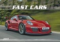 Fast cars 2017 - nástěnný kalendář