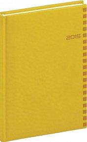 Diář 2015 - Tucson-Ontario - Týdenní A5, žlutá (CZ, SK, GB, DE)