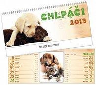 Chlpáči 2013 - stolový kalendár