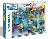 Puzzle Supercolor Micky Mouse 3x48 dílků