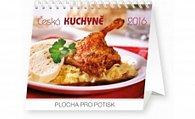 Kalendář stolní 2016 - Česká kuchyně Praktik,  16,5 x 13 cm