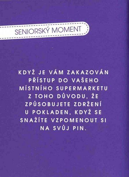 Náhled Malá kniha seniorských momentů