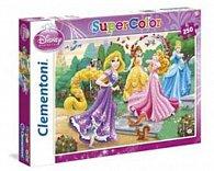 Puzzle Supercolor 250 dílků Princezny