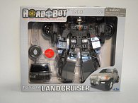Road bot - Land cruiser se zvukem a světlem