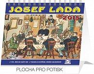 Kalendář 2015 - Josef Lada V hospodě Praktik - stolní týdenní