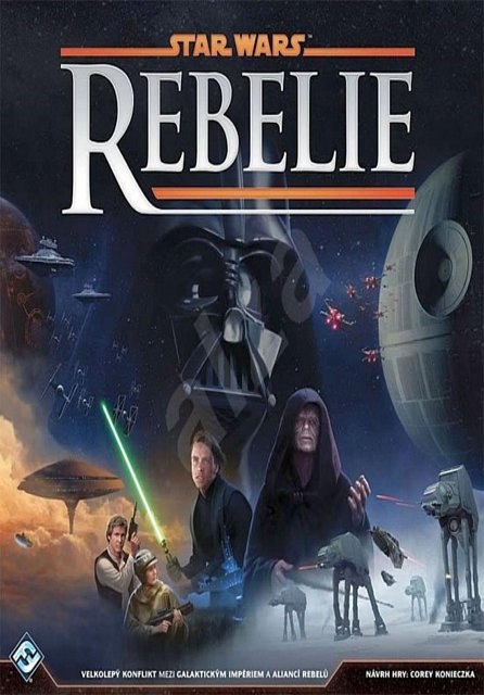 Náhled Star Wars/Rebelie - Desková hra