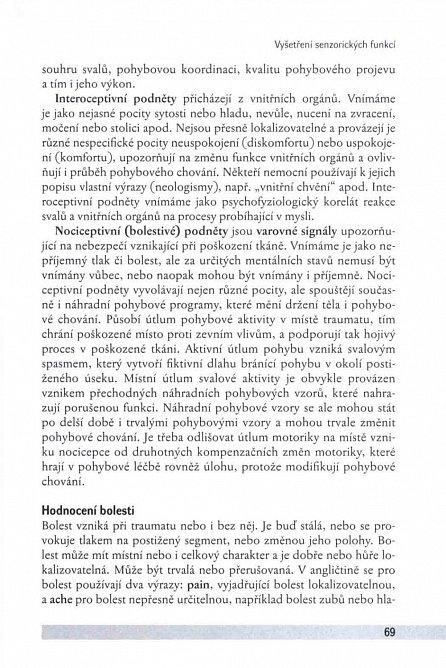 Náhled Vyšetření hybných funkcí z pohledu neurofyziologie