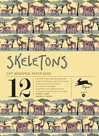 Skeletons (Gift Wrapping Paper Book)