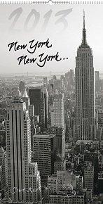 Kalendář 2013 nástěnný - New York Jakub Kasl, 33 x 64 cm