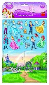 Princezny - Magnetické puzzle