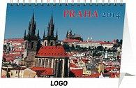 Kalendář 2014 - Praha - stolní