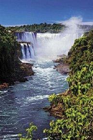 Puzzle 1000 dílků Vodopády Iguazu