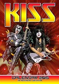 Kalendář 2015 - Kiss (297x420)