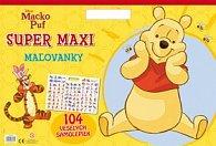 Macko Puf Super maxi maľovanky