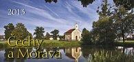 Čechy a Morava - stolní kalendář 2013