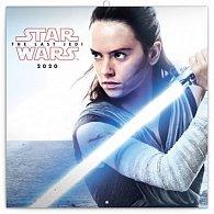 Kalendář poznámkový 2020 - Star Wars, 30 × 30 cm