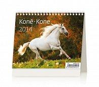 Kalendář 2014 - MiniMax Koně - stolní