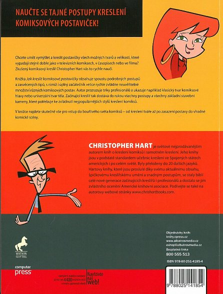 Náhled Jak kreslit komiksové postavičky