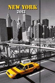 Diář 2013 - magnet. New York 10,5 x 15,8 cm - CZ