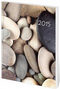 Diář 2015 - Poketto kapesní - Stones