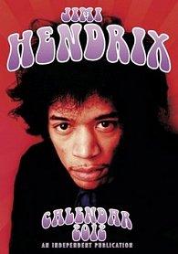 Kalendář 2012 - Jimi Hendrix