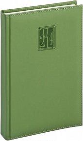 Diář 2014 - Grande - Denní B6, zelená (ČES, SLO, ANG, NĚM)