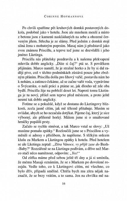 Náhled Bílá Masajka - 2. vydání