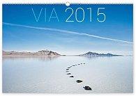 Kalendář 2015 - Cesty - nástěnný s prodlouženými zády