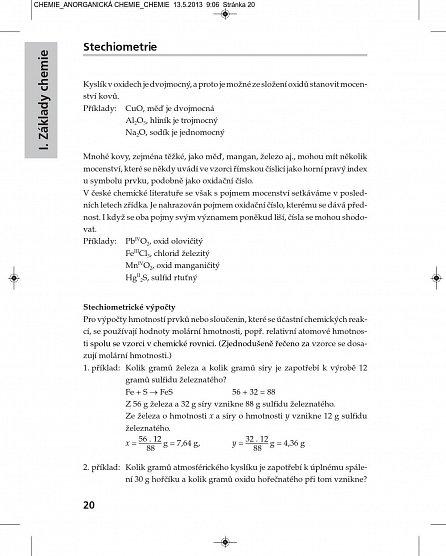 Náhled Kompendium chemie