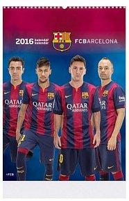Kalendář nástěný 2016 - BARCELONA