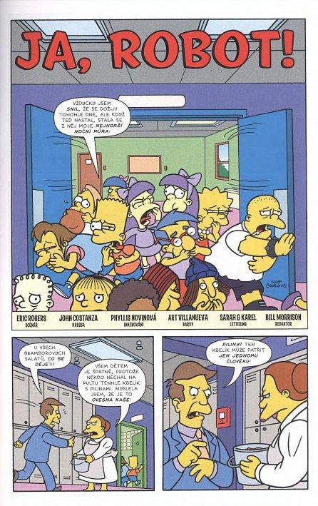 Náhled Simpsonovi - Bart Simpson 6/2017 - Kámen úrazu