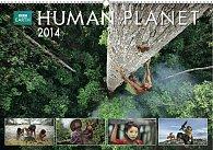 Kalendář 2014 - Human planet - nástěnný s prodlouženými zády