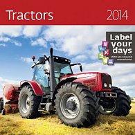 Kalendář 2014 - Tractors - nástěnný
