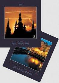 Praha/ Prague/ Prag 2009 - nástěnný kalendář
