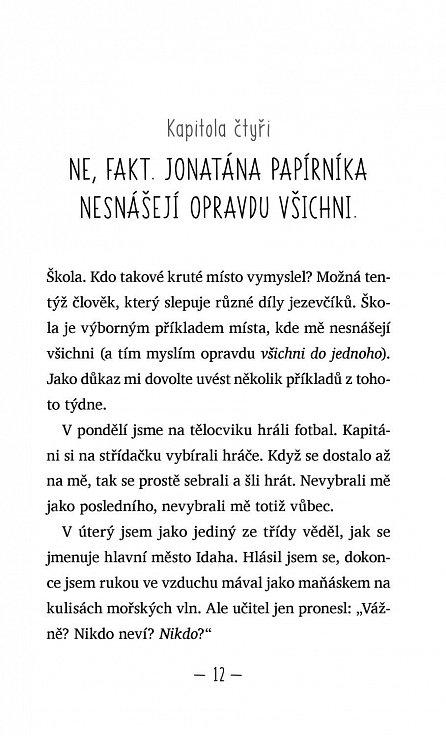 Náhled Zpověď Jonatána Papírníka - Memoár nadiktovaný Michelle Cuevasové
