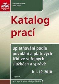 Katalog prací k 1.10. 2010