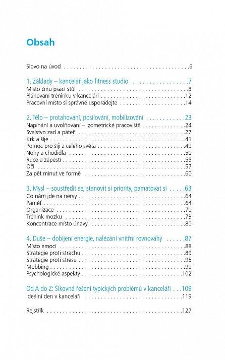 Náhled Kanclrobik - 100 cviků do kanceláře pro dobrou kondici