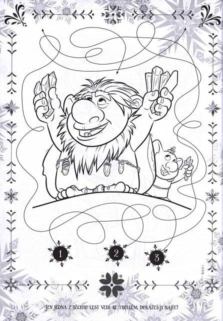 Náhled Ledové království - Polární záře - Sešitt A4